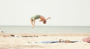 Beach Back Flip Two